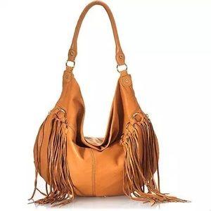 Rebecca Minkoff Fringe Darling Leather Bag Purse